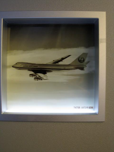 Japan Airlines (JAL) Sky Gallery 777-300ER (773) on JL061, Boeing 747SR