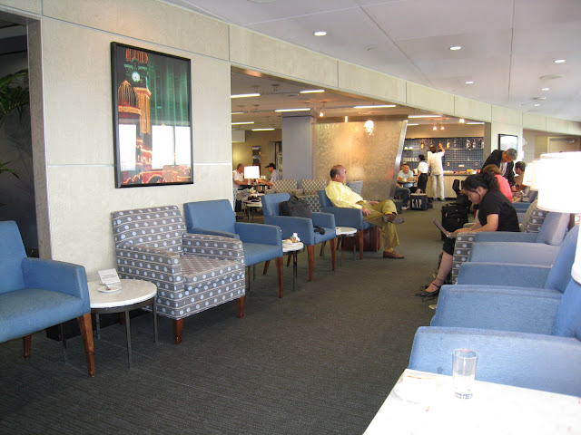 JAL Lounge at LAX