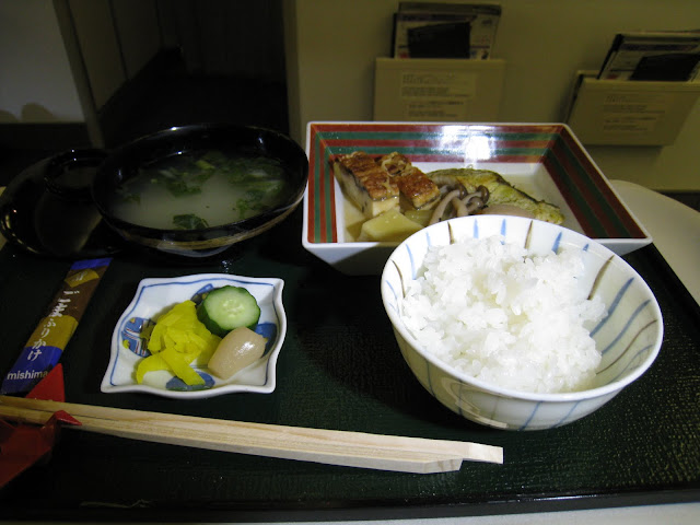 Japanese meal main dish on JL062