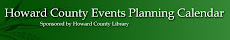 Howard County Events Planning Calendar