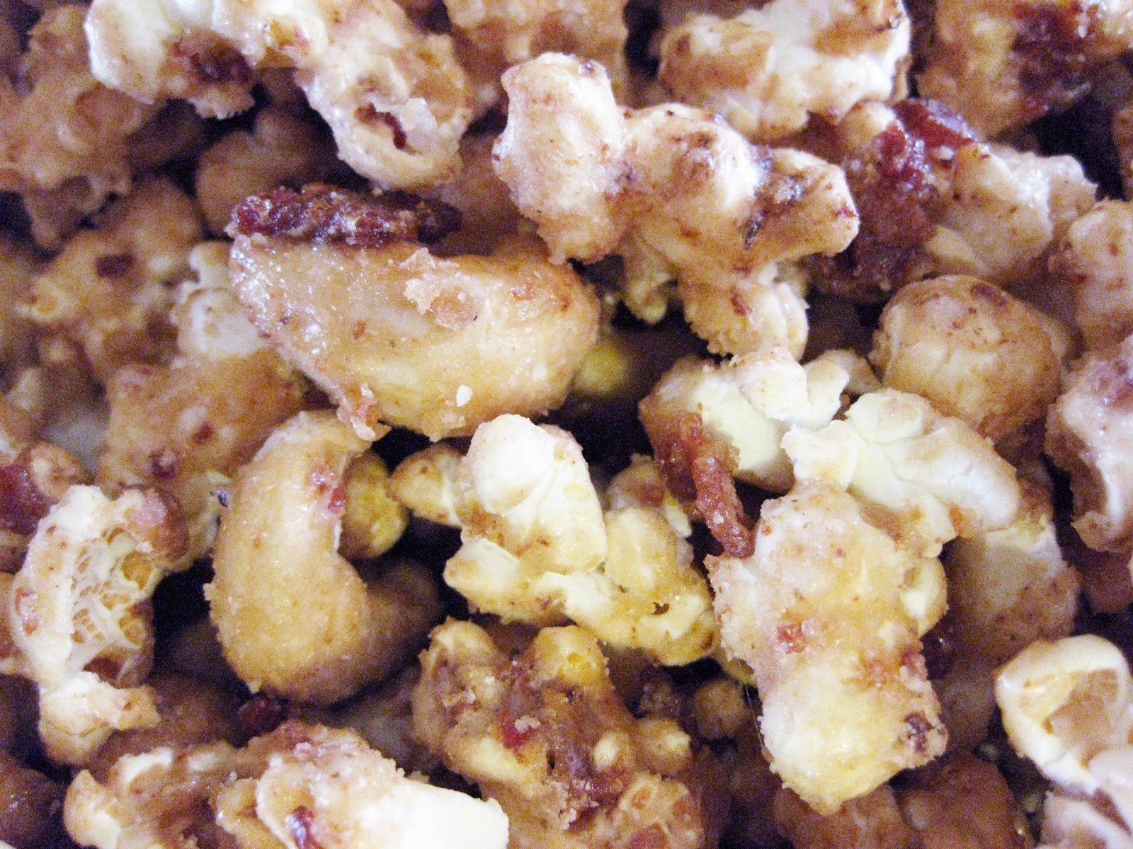 Bloatal Recall: Bacon & Cashew Caramel Corn (2010's best party food)