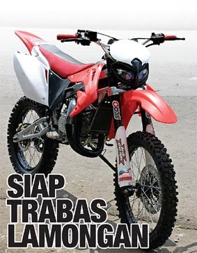 Modifikasi Kawasaki Ninja Motor Cross title=