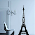 Wall Decor Eiffel Tower