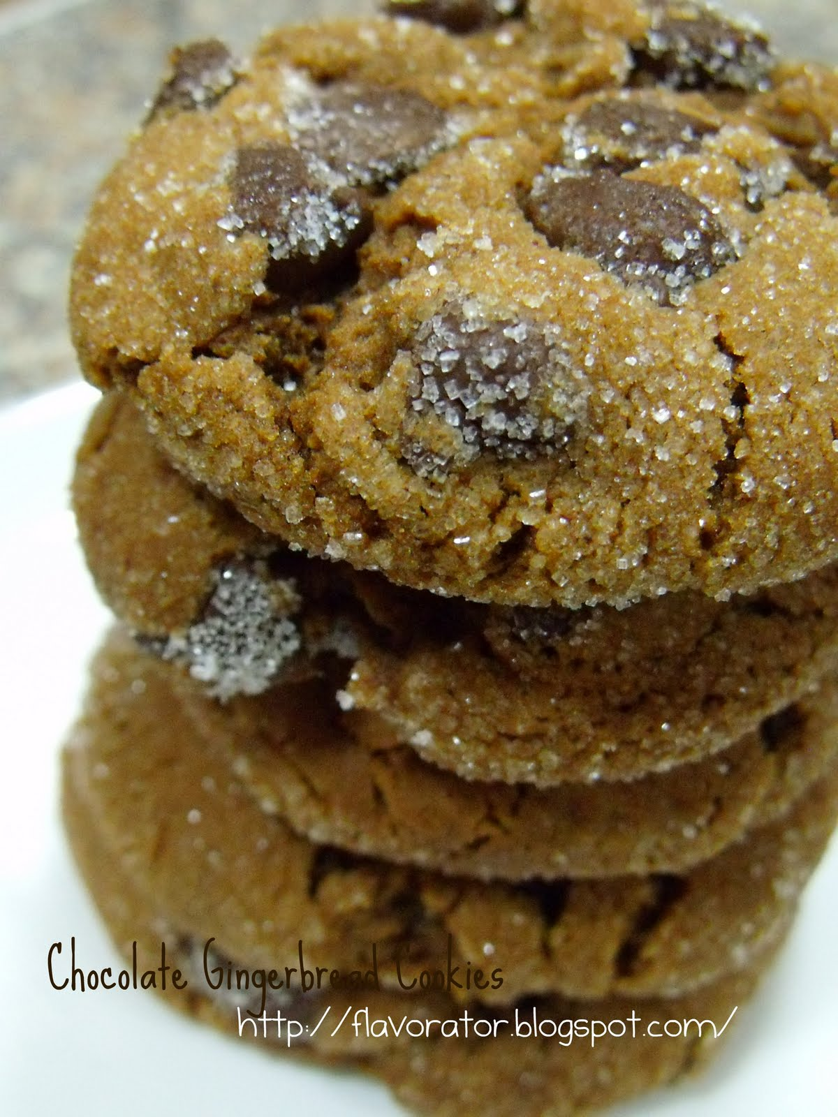 fLAVORATOr: Chocolate Gingerbread Cookies