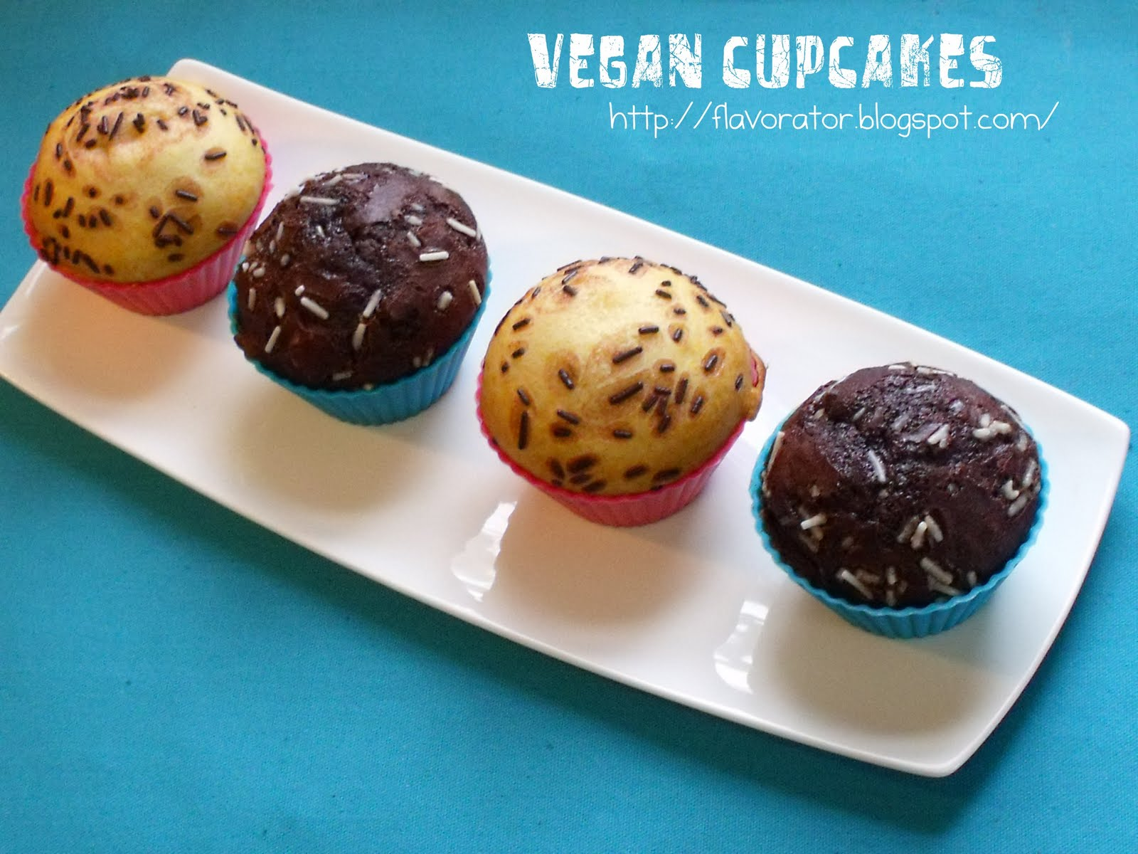 fLAVORATOr: Vegan Cupcakes? Vegan Brownies? You bet!