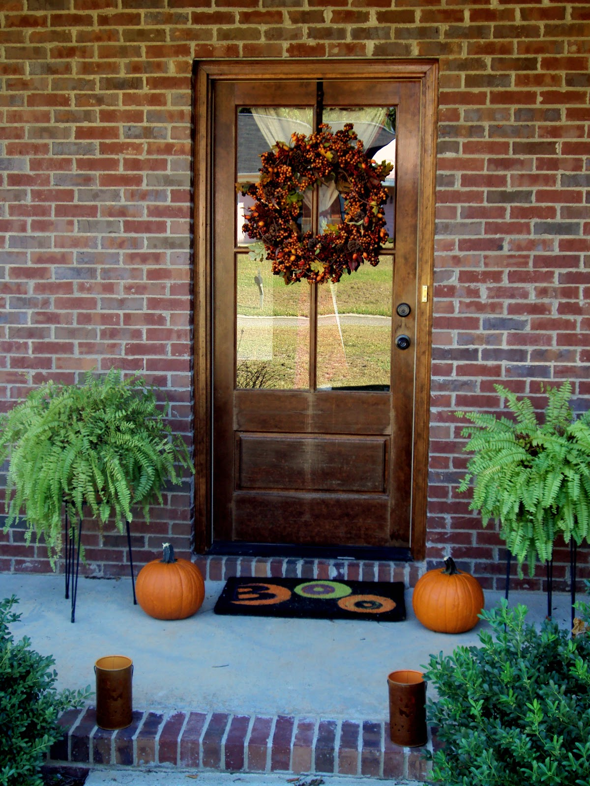 the Sowell life: Fall Outdoor Decor