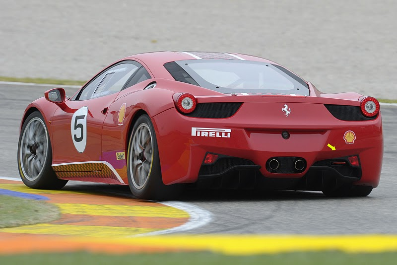 ferrari 2011 models. The Ferrari 458 Challenge will