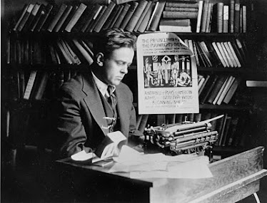 John Reed at his desk