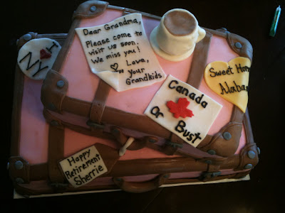 Retirement cakes for secretary | just b.CAUSE