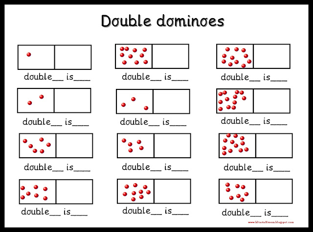 debbie u0026 39 s resource cupboard  domino doubles