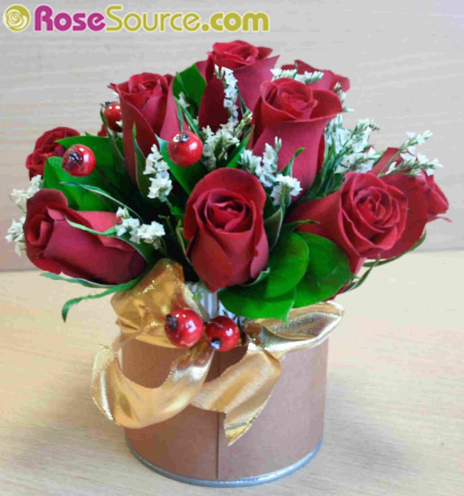 RoseSource.com: Now is the perfect time to order Holiday Flowers ...