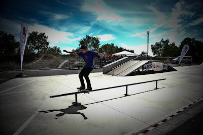 Javier Suarez.Boardslide.