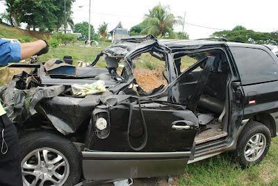 Naza Ria Crash