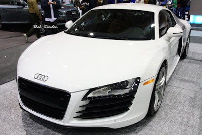Audi R8 White Power