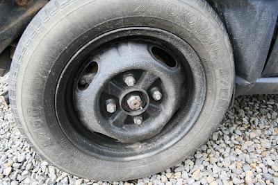 damage tyre