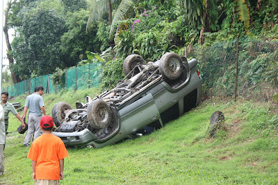 4WD Accident