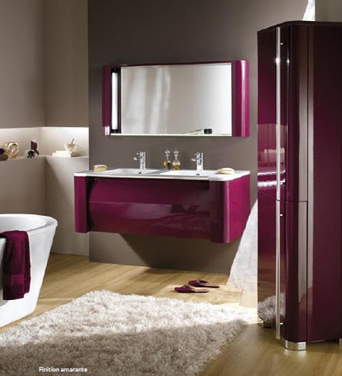modern bathroom vanities in colors q design studio. Black Bedroom Furniture Sets. Home Design Ideas