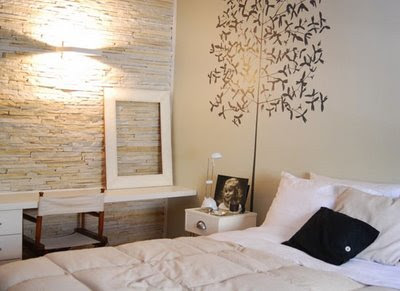 adesivo de parede para quarto de casal