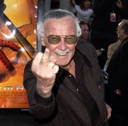 Stan Lee's Finger