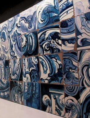 Azulejões de Adriana Varejão