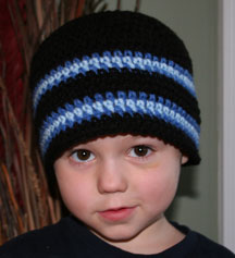 Crochet Baby Hat Pattern Aviator Hat perfect for boys