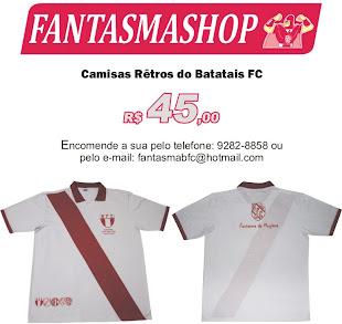 Compre Agora - Camisas Rêtros do Batatais FC