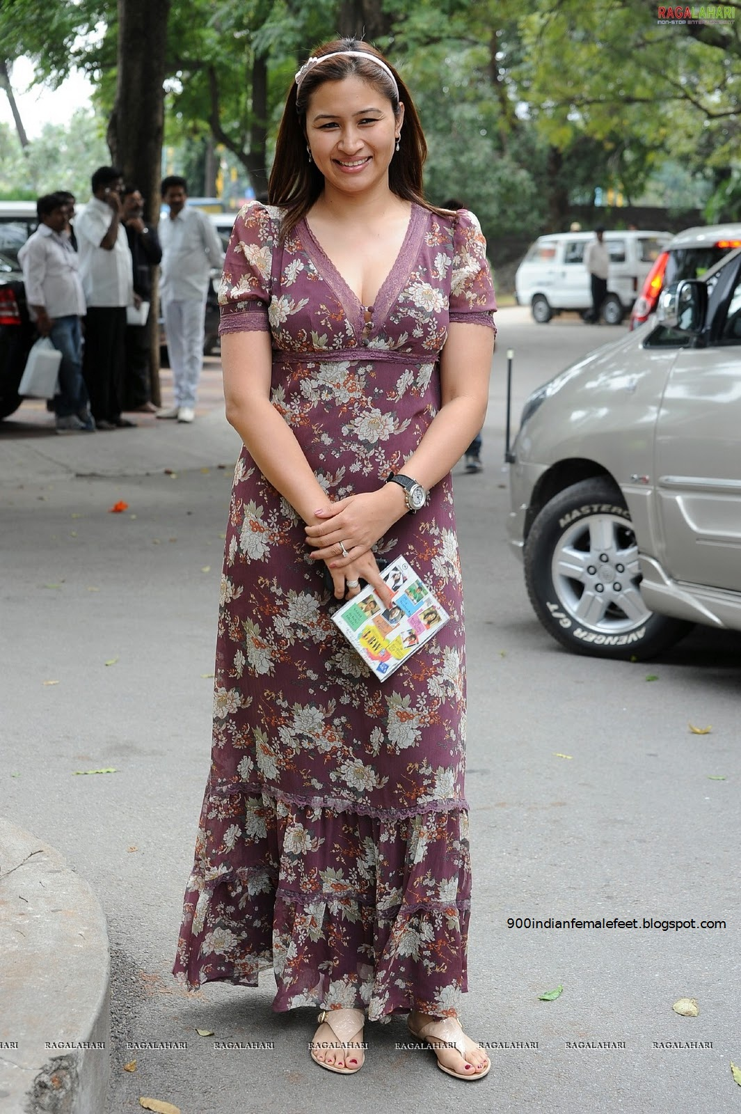 Badminton sensation Jwala Gutta's beautiful feet