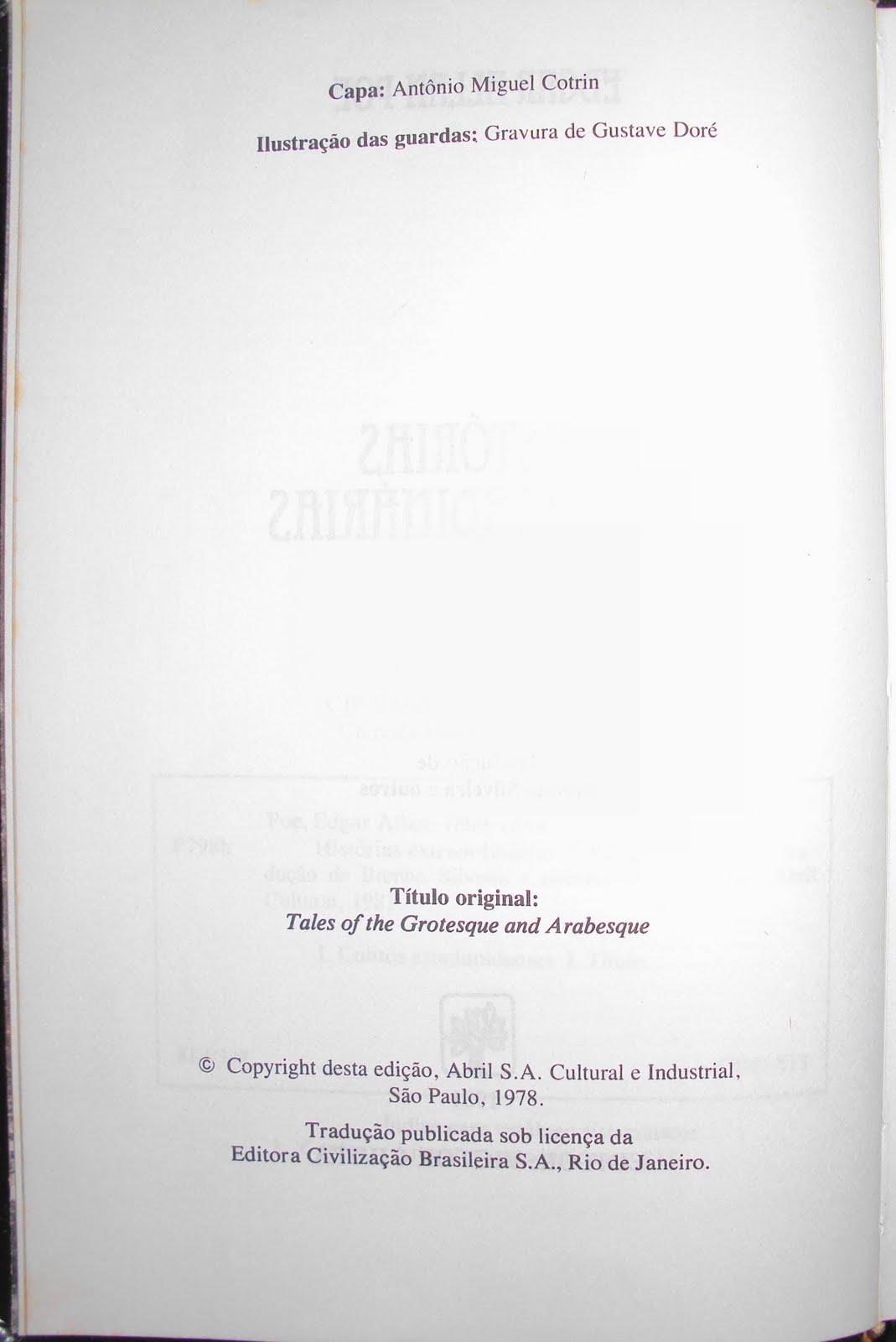 No gosto de plgio abril 2010 ora ocorre que a traduo publicada pela bestbolso agora em 2010 em nome de brenno silveira idntica traduo de berenice xavier na edio da abril fandeluxe Images