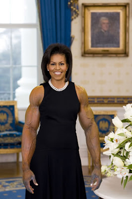 The First Lady Has Been Working Out!