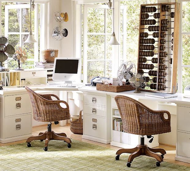 Exceptionnel Pottery Barn Home Office Desks