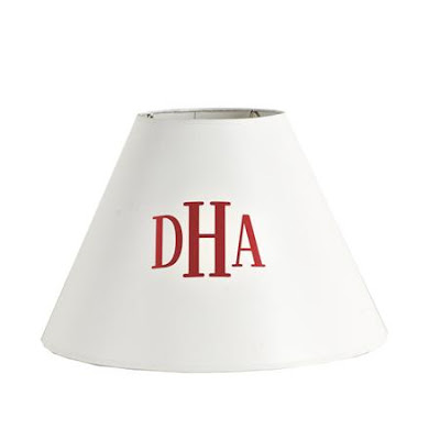 Aesthetic oiseau monogrammed lamp shade available here mozeypictures Images