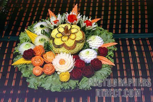 Decoraciones dulces modelado de frutas y verduras for Decoracion con verduras