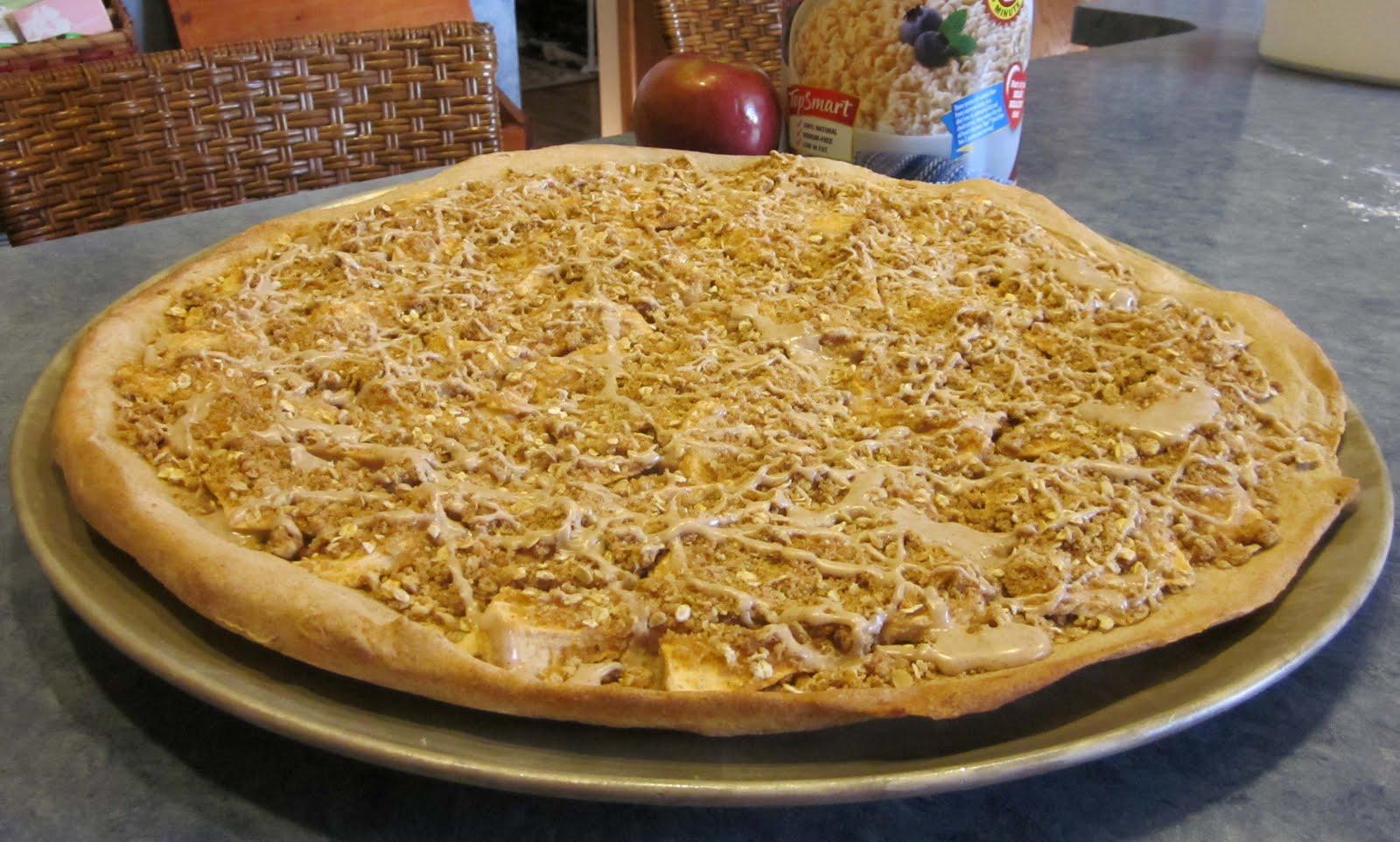 Barbara Early's Recipe Blog: Apple Pie Pizza