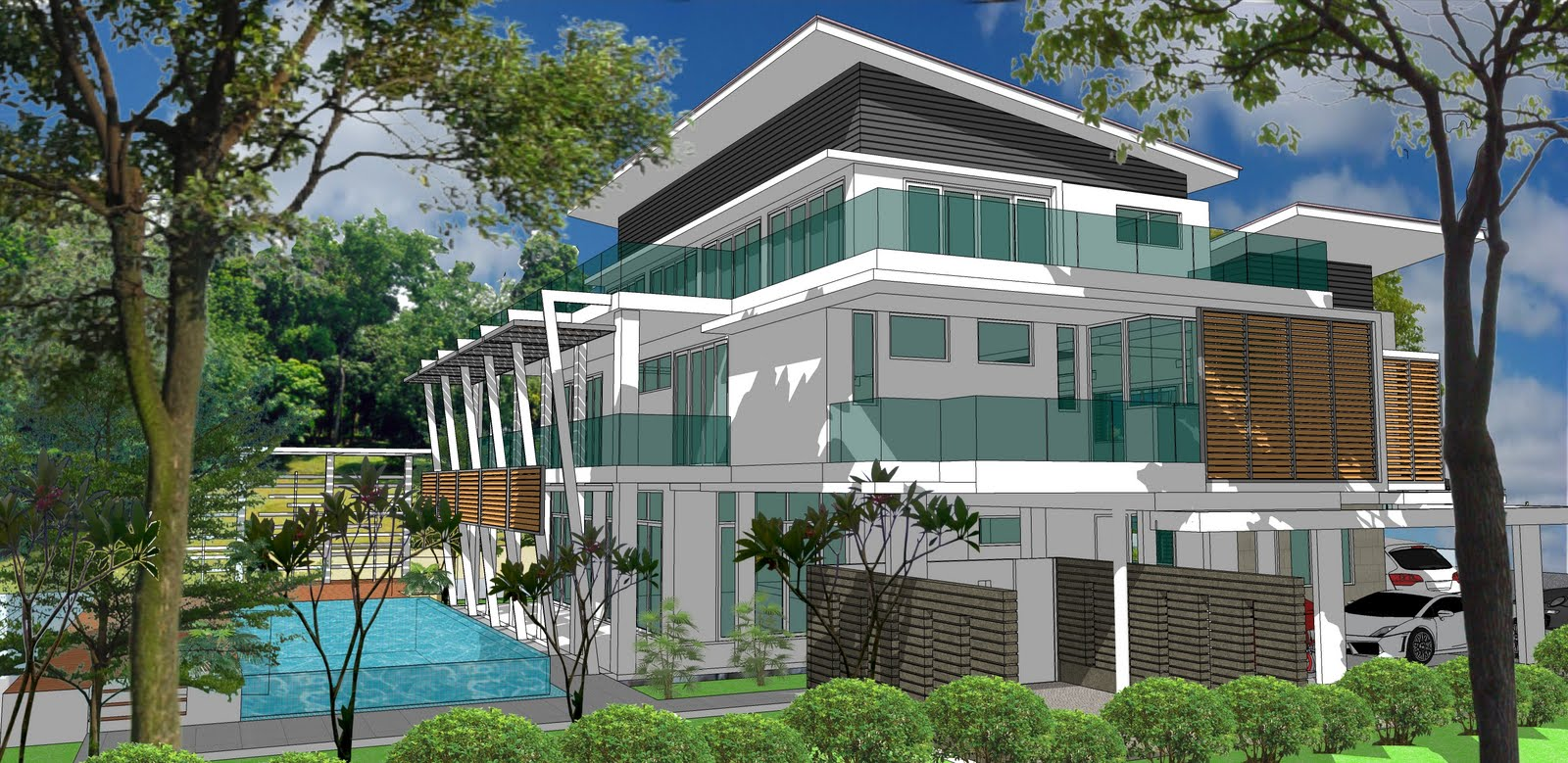 Ala Design Bungalow Jln Ara Bangsar