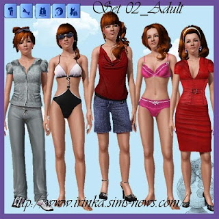 Finds Sims 3 .:. 2 - Octubre -2010 .:. Set+02+Adult+by+Irink@a