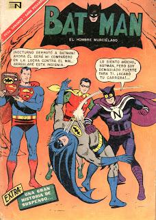 tapa Batman 357 novaro