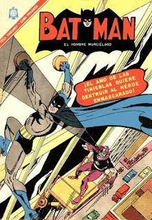 tapa Batman novaro 346