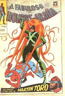 suplemento fabuloso hombre araña 214