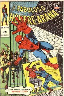 Hombre Araña 221, el Tony