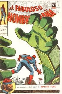 El Fabuloso Hombre Araña, El Tony 227