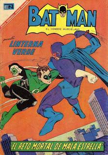 Batman Novaro presenta a Linterna Verde Nº366