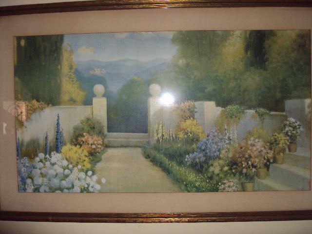 antique art garden my art deco garden prints at home part 1. Black Bedroom Furniture Sets. Home Design Ideas