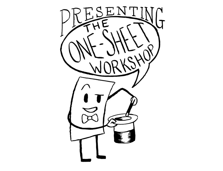 One Sheet Comic Workshop