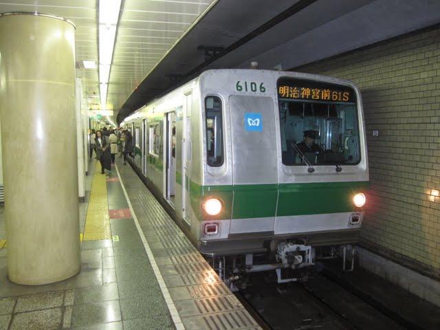 常磐線 東京メトロ千代田線直通 明治神宮前行き2 6000系LED式