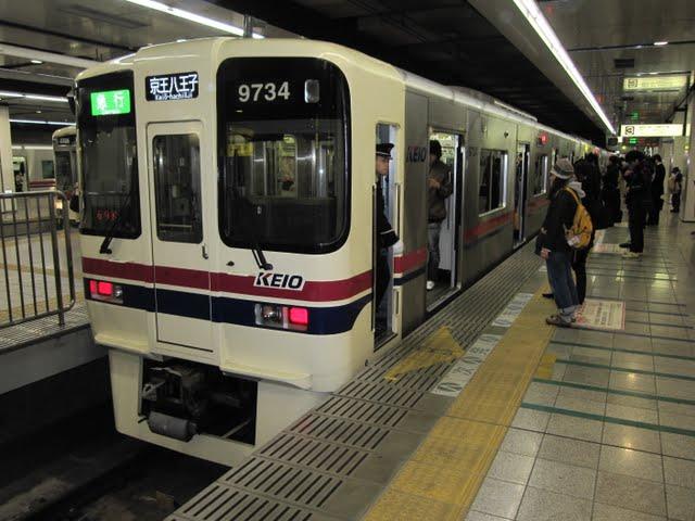 京王電鉄 急行 京王八王子行き4 9000系(平日10本運行)
