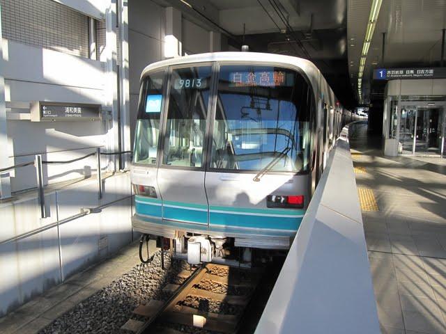 東京メトロ南北線 白金高輪行き1 9000系