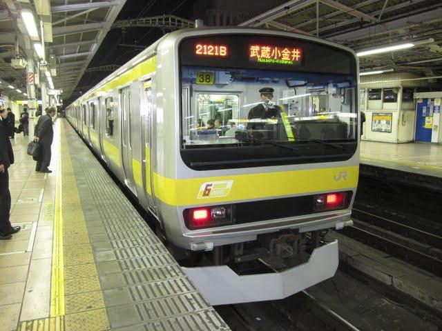 中央・総武緩行線 武蔵小金井行き E231系(平日6本運行)