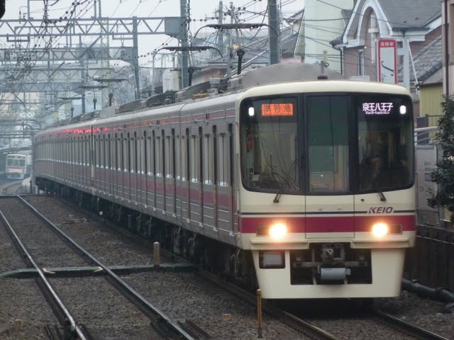 京王電鉄 準特急 京王八王子行き3 8000系