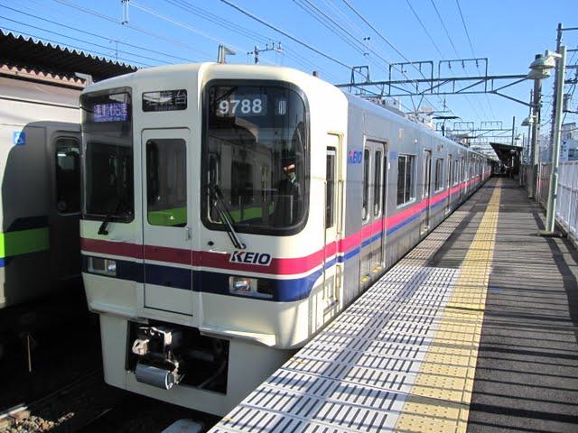 京王電鉄 通勤快速若葉台行き 9000系(平日1本運行)