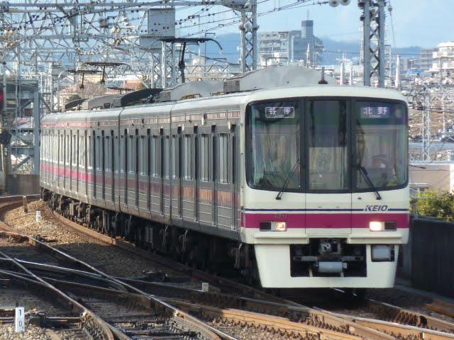 京王電鉄 各停 北野行き3 8000系